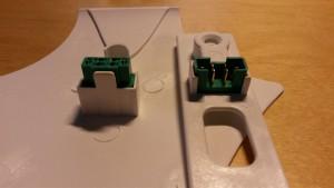 MPX-kontakter för vingservo