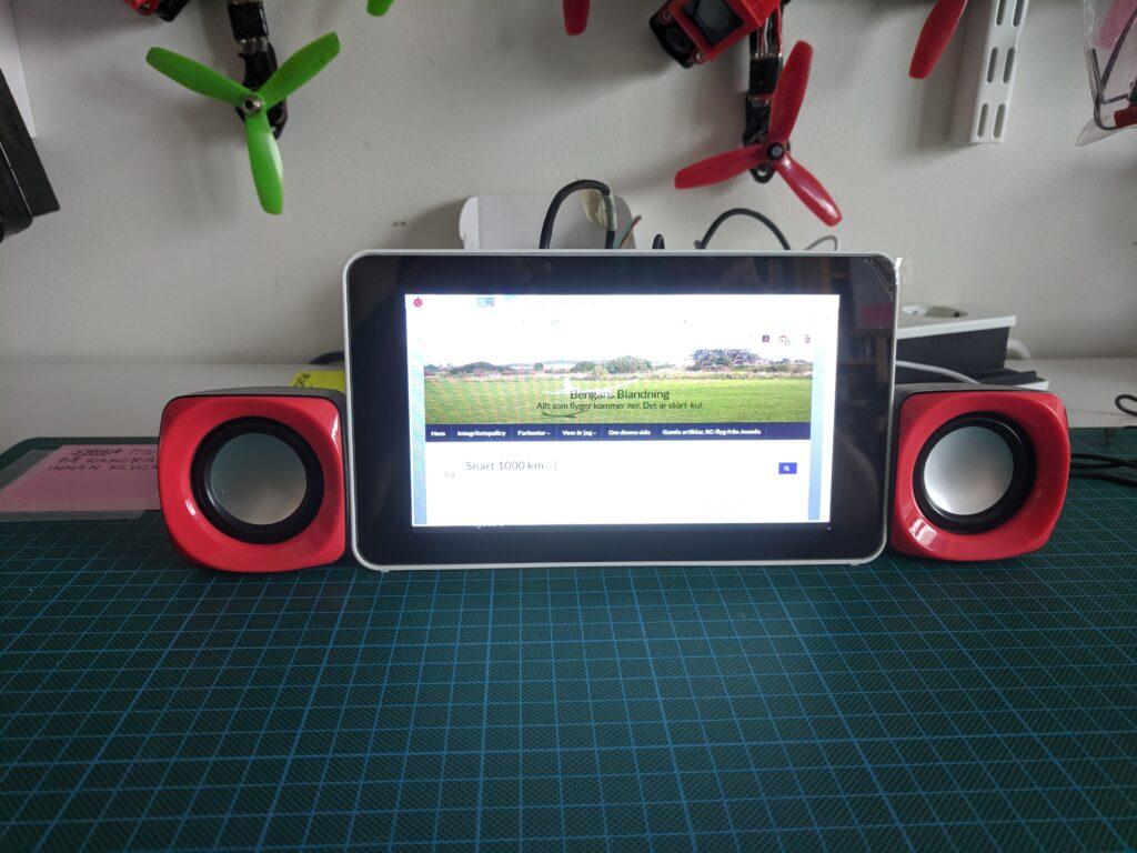 RP-med-skärm